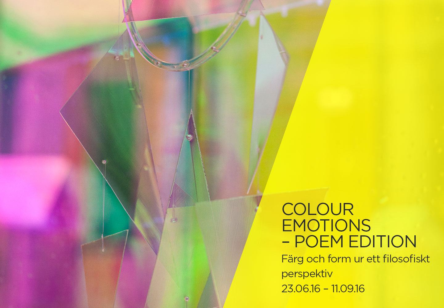 COLOUR EMOTIONS – POEM EDITION
